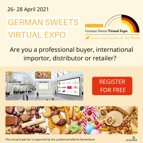 German Sweets Virtual Sweets Expo Banner